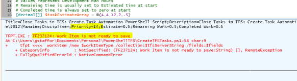 Automating Task Creation in Team Foundation Server with