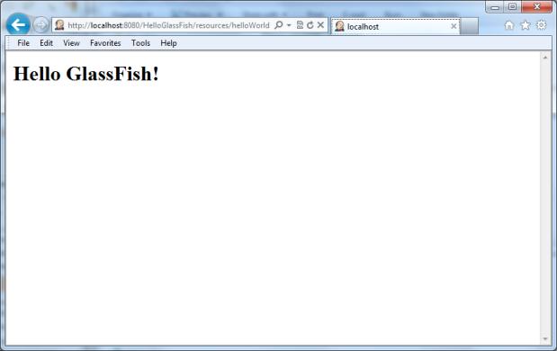 HelloGlassFish RESTful Web Service Demo