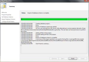 VS 2010 Database Project 03