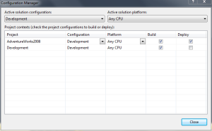 New Development Solution Configuration 02