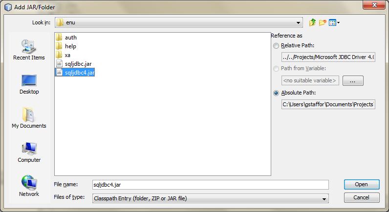 Microsoft Jdbc Driver 4.0 For Sql Server Download