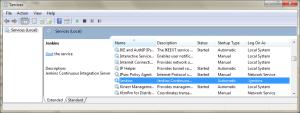 Jenkins Windows Service