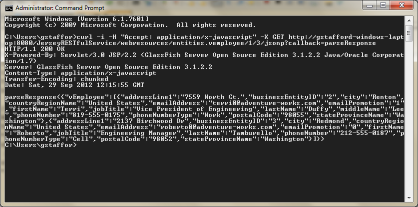 07c - Test New Method with cURL