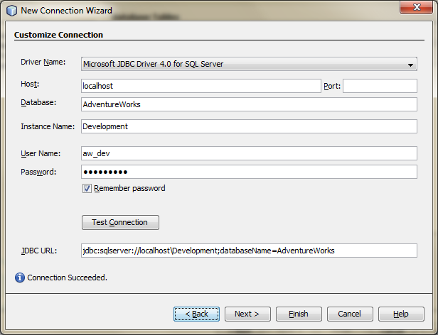 Creating a New Datasource for Entity Classes from a Database - 03