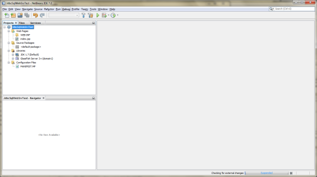 Creating a New Java Web Application Project in NetBeans - 06