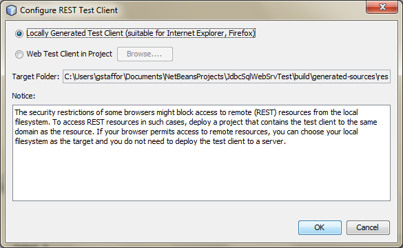 Test RESTful Web Service in NetBeans - 01