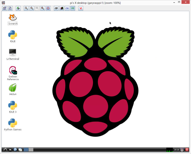 Raspberry Pi's X Desktop