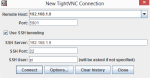 TightVNC Connection Window