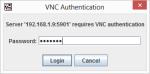 TightVNC VNC AuthenticationWindow