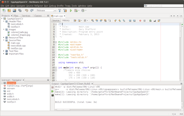 Project in NetBeans