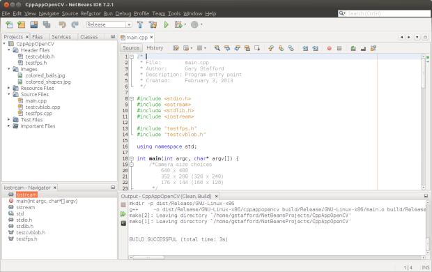 Project in NetBeans