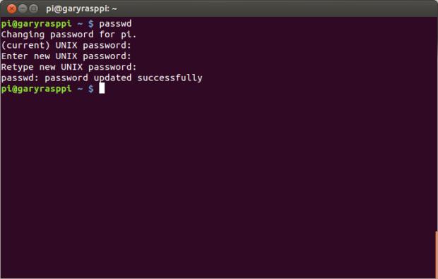 Root Password Raspberry Pi