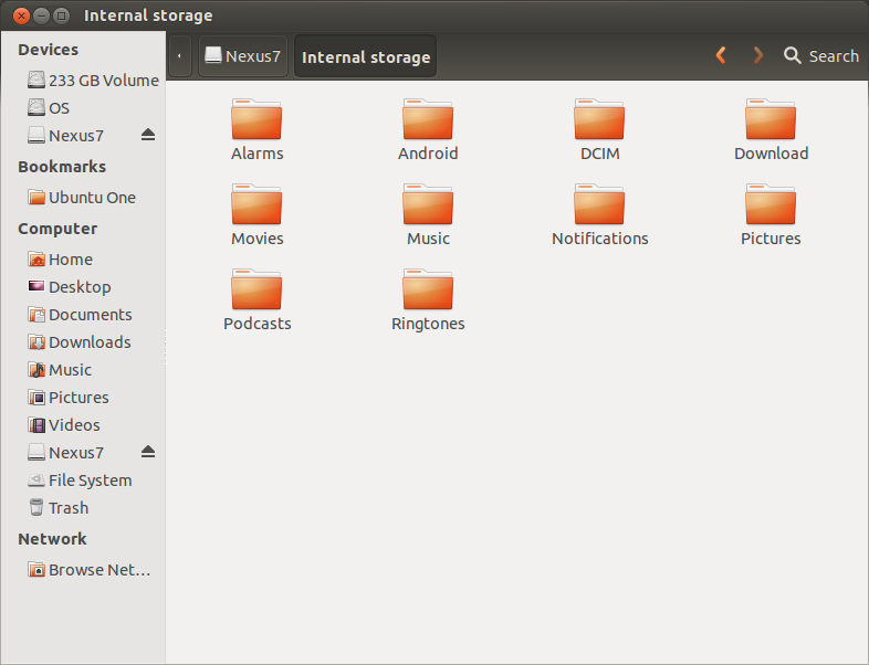 Setting Up the Nexus 7 for Development with ADT on Ubuntu