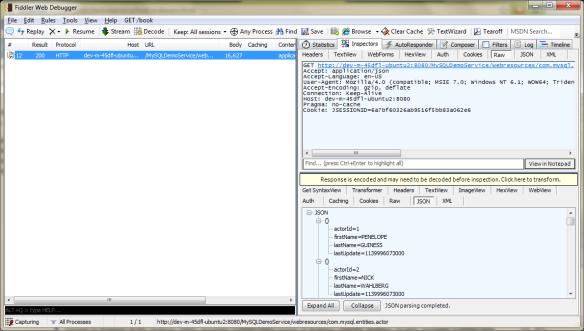 Java RESTful Web Services Using MySQL Server, EclipseLink, and