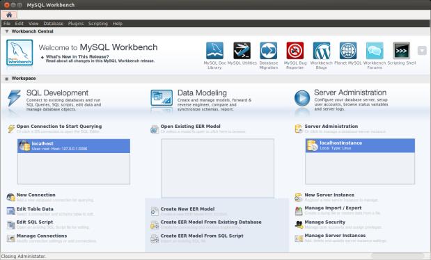 MySQL Workbench IDE