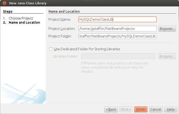 Naming New Java Class Library
