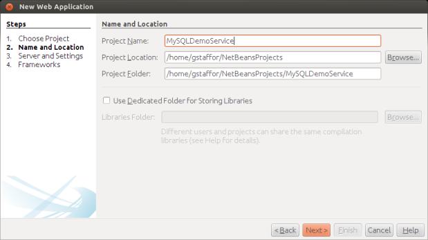 Naming New Web Application