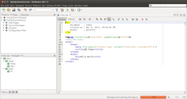 New Java Web Application Project