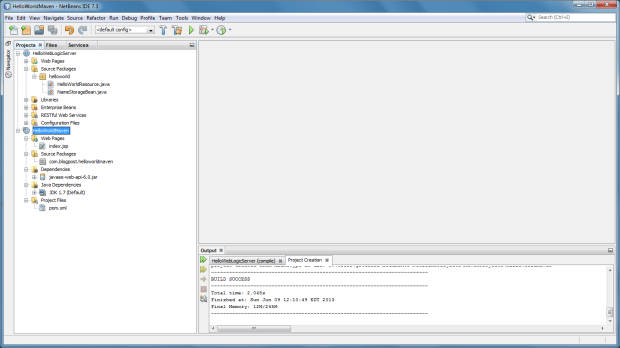 1d - New Maven Project in NetBeans