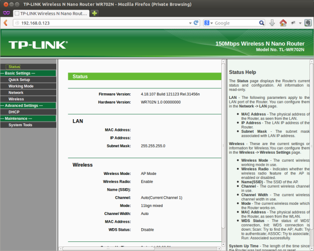 TP-LINK Administration Console 2