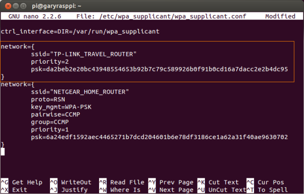 WPA Supplicant Configuration
