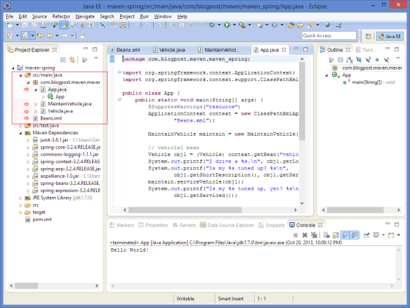 Spring Integration with Eclipse Using Maven | Programmatic Ponderings