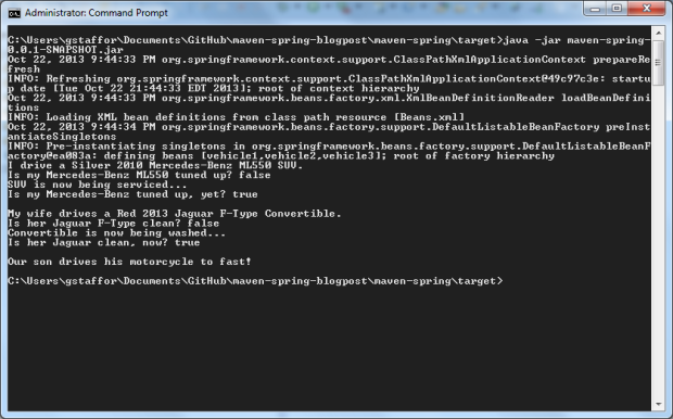 Running Application from External Command Prompt