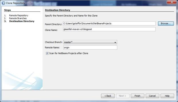 Clone New Bare Server Repository - Screen 3