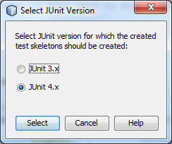 Create JUnit Tests - Screen 2