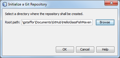 Initialize New Git Repository