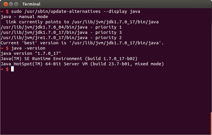 Updating Ubuntu Linux to the Latest JDK | Programmatic