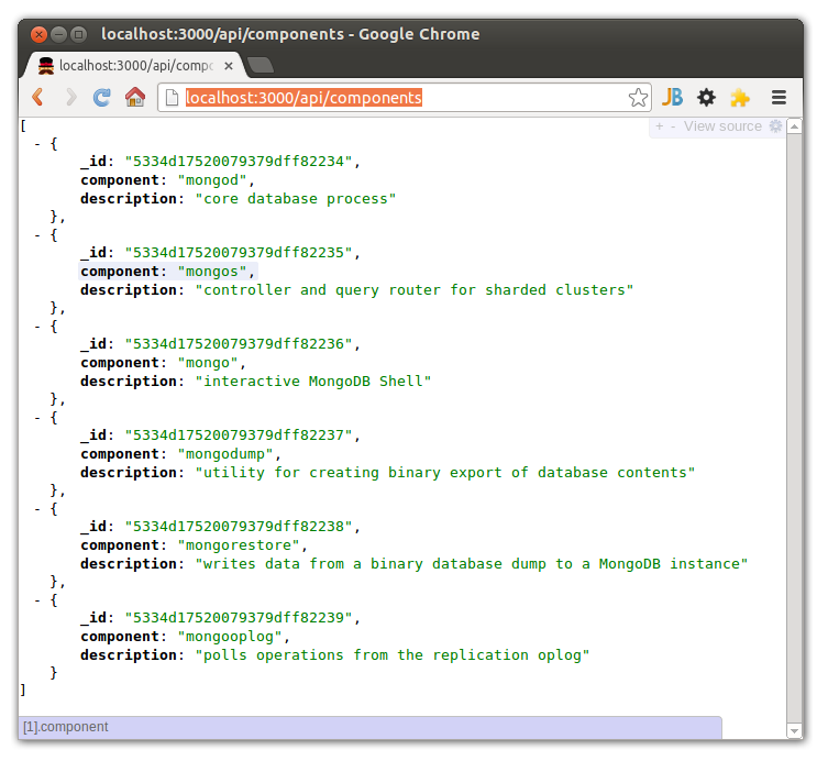 Retrieving and Displaying Data with AngularJS and the MEAN