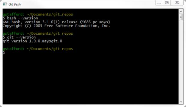 Using Git Bash on Windows for a Unix-like Experience