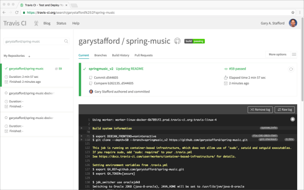 Spring Music Revisited: Java-Spring-MongoDB Web App with