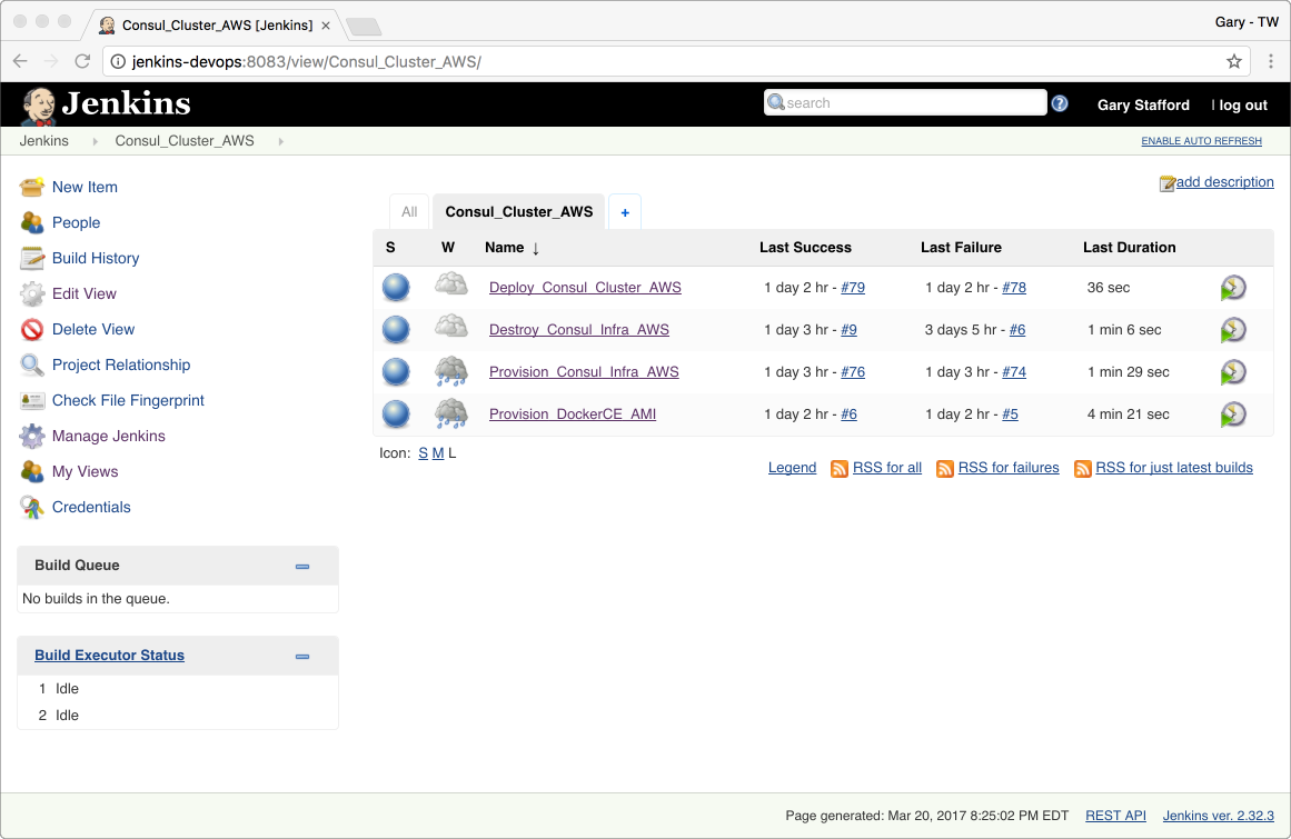 Provision and Deploy a Consul Cluster on AWS, using