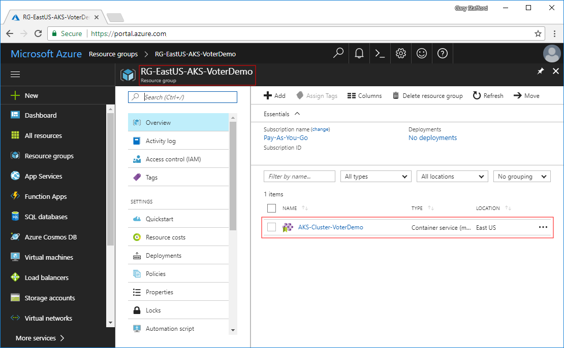 First Impressions of AKS, Azure's New Managed Kubernetes