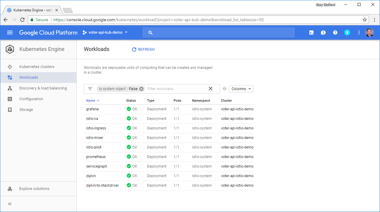 Deploying and Configuring Istio on Google Kubernetes Engine (GKE