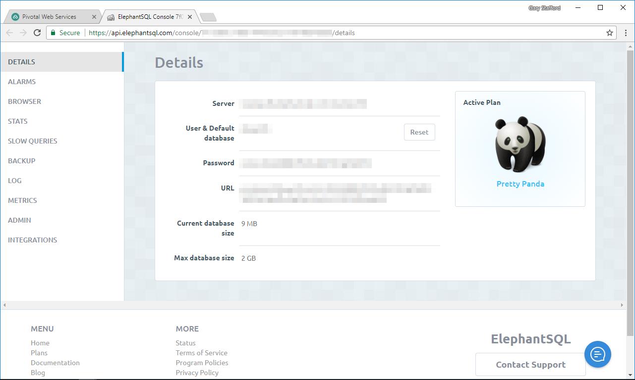 img012_PWS_ElephantSQL_Details