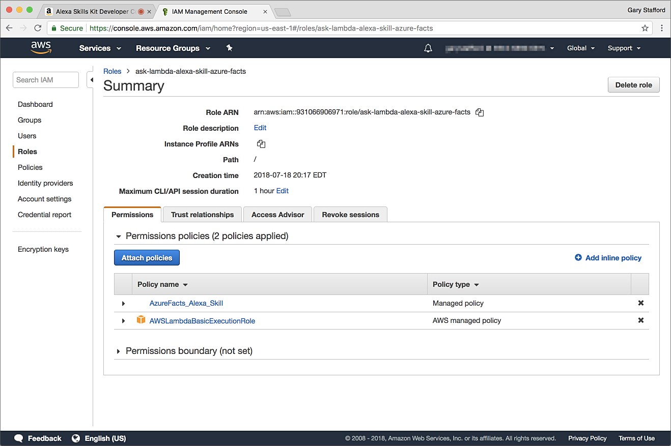 Building Asynchronous, Serverless Alexa Skills with AWS Lambda
