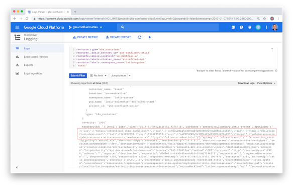 Istio End-User Authentication for Kubernetes using JSON Web Tokens