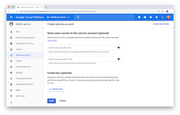 Getting Started with Red Hat Ansible for Google Cloud